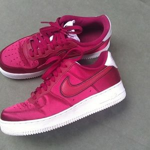 Women Nike Air force 1 Red